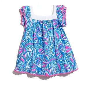 """Lilly for Target """"My Fans"""" baby dress 12m"""